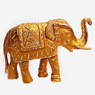 Home Decor Metal Elephant Statue