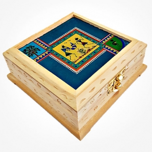 Warli Art Jewellery Box