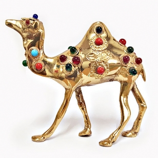 Brass Decorative Camel Statue