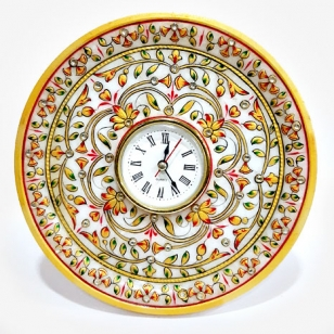 Fabulous Marble Table Clock Big