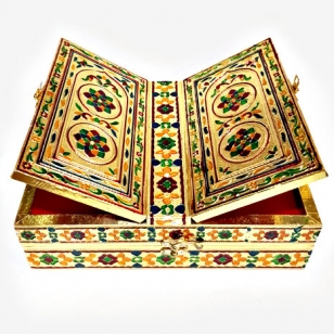 Meenakari Holy Book Stand