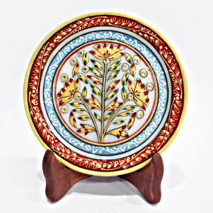 Decorative Marble Painting (15cm Diameter)