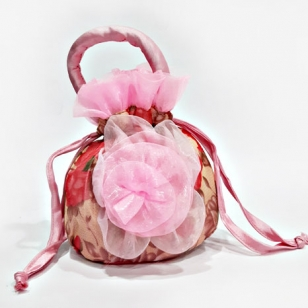 Floral Design Potli Bag