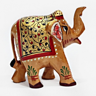 Trunk Up Elephant (8cm Height)