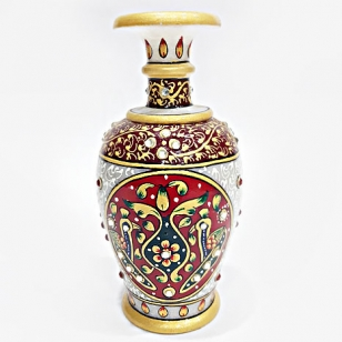 Marble Decorative Pot Painted