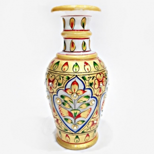 Marble Flower Vase Decorative