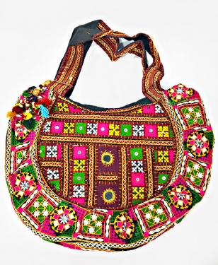 Phulkari Embroidered Bag