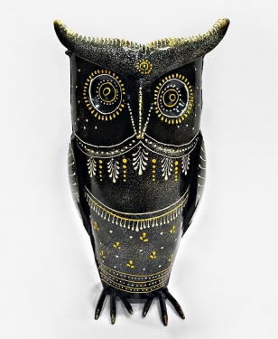 Owl Pot & Paper Holder