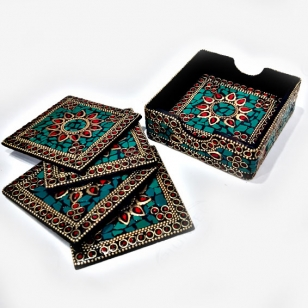 Designer Tea Coaster Set