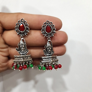 Antique Lord Shiva Earring