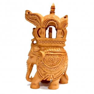 Beautiful Carving Ambabari Elephant