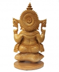 Wooden Superfine Carving Ganesh