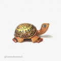 Wooden Painted Tortoise