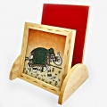 Gemstone Elephant Painting Mobile Holder - Pack of 2pc