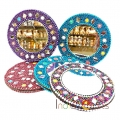Lac Round Shaped Mirror