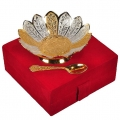 Silver & Gold Plated Bowl Set