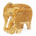 Cedar Wood Elephant Jali