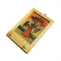 Gemstone Painting Key Holder 5 inch Height