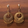 Goldern Earrings