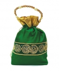 Velvet & Lace Potli Bag