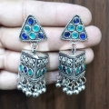 Earrings with Stones - 2745