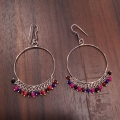 Alloy Earring – Multi Beads