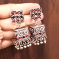 Earrings with Stones - 2744