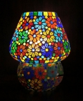Mosaic Colourful Lamp - 2841