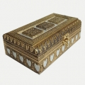 Gold Oxidised Dry Fruit Box