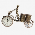 Elegant Cycle Clock & Pen Holder