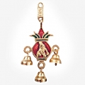 Wall Hanging Krishna with Kalash & Bells
