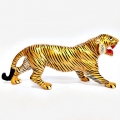 Metal Painted Tiger 9 inch Length
