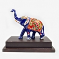 Meenakari Elephant with Base