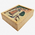 Wooden Carving Box 5x4 (Pack of 2pc)