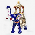 Decorative Enamel Elephant Medium