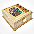 Ethnic Wood Carving Box
