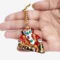 Elegant Ganesh Keychain - Pack of 6pc