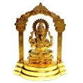 Metal Gold Plated Ganesha