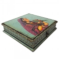 Exclusive Jewellery Box with Lady Painting